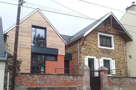 maison c bertrand architecte cabinet d 39 architecte le mans sarthe. Black Bedroom Furniture Sets. Home Design Ideas