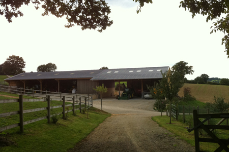 Hangar agricole bertrand architecte cabinet d for Renovation hangar en habitation