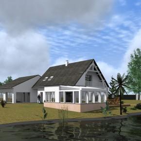 Extension d'une maison d'habitation-Création d'une Véranda
