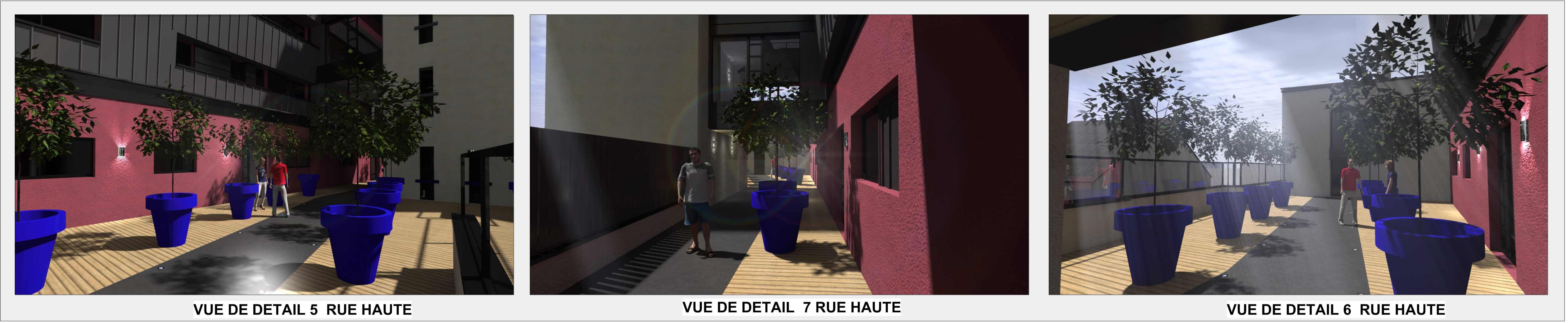 résidence nouvelles galeries | bertrand architecte - cabinet d