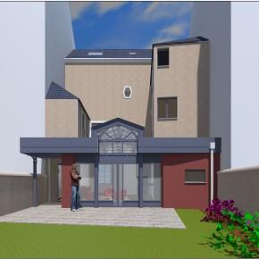 Extension d'une Maison d'habitation. Le Mans